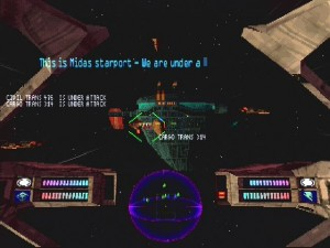 Psygnosis Colony Wars Screen Shot