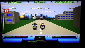 Road Rash has nothing on this