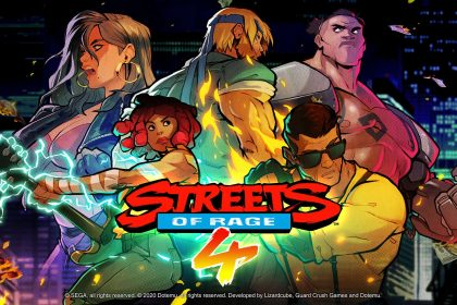 Streets of Rage 4 header