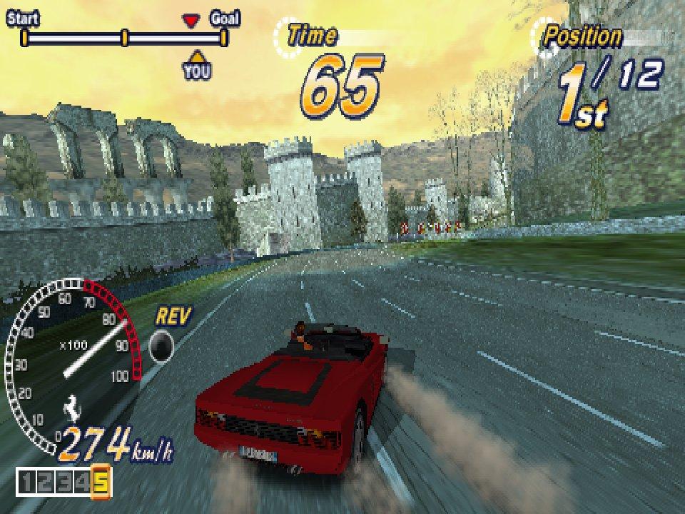 Outrun 2006 screenshot