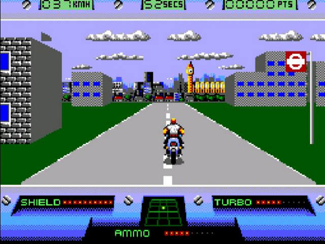 Outrun Europa - an incredible looking Master System Game but not one that used the YM2413